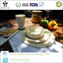 Наборы для столовой посуды из растительного волокна