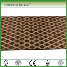 Walnut dance parquet floor