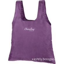 Polyester / Non Woven Foldable Reusable Grocery Shopping Bags , 38cm X 35cm