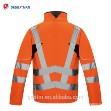 EN471 And EN340 Fashion High Visibility Safety Jacket Reflective