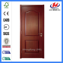 *JHK-002 Two Panel Interior Door Interior House Doors Veneer Flush Doors