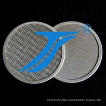 Malla de filtro de acero inoxidable Anping
