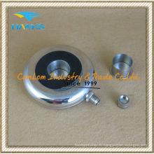 Flacon à anneaux ronds en forme de 8 oz avec l'intérieur de la tasse
