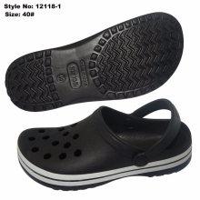 Black Fashionable EVA Shoes Garden Clogs