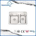 Fashionable Double-Bowl Moduled Sink (ACS6952M)