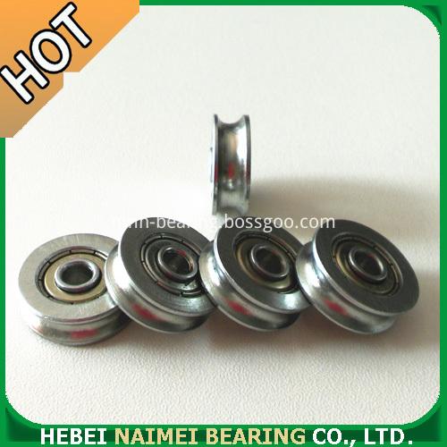 U Groove bearings