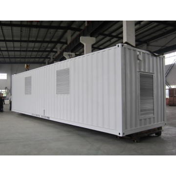 Generador de Diesel de 2000KW silencioso en contenedores de 40'