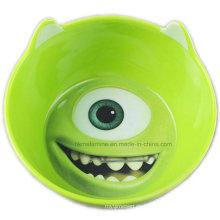 Cuenco de melamina niños con el logotipo de dibujos animados (bw7362)