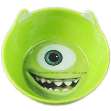 Kids Melamine Bowl avec Cartoon Logo (BW7362)