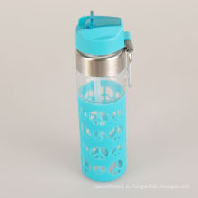 Mejor venta Everich deportes botella de vidrio de agua