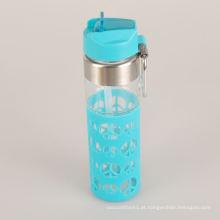 Mais vendido Everich esportes garrafa de água de vidro