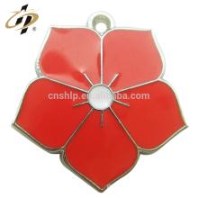 Presente da promoção da liga de decoração esmalte pingente de charme personalizado