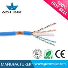 PE Insulation double shielded twisted pair cable sftp cat 6 outdoor