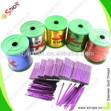 dobleces de la torcedura del alambre doble del papel de la hoja / venda del clip / cierres del bolso