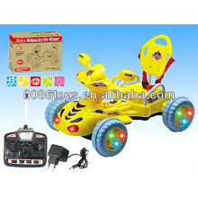 Newest kids car with rc ,light ,music,8 channel