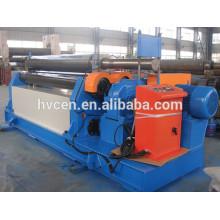 Máquina de rolamento de chapa grossa hidráulica w11-12 * 3000 / máquina de cone