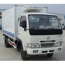 Dongfeng low temperature refrigerated box truck for sale