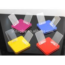 Présentoir accessoire acrylique de téléphone portable / affichage acrylique de téléphone