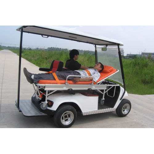 Rescue Cart / Golf Cart met Bed