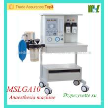 MSLGA10 Günstige und hochwertige medizinische Beatmungsgerät mit Vaporizer Best Anästhesie Ventilator