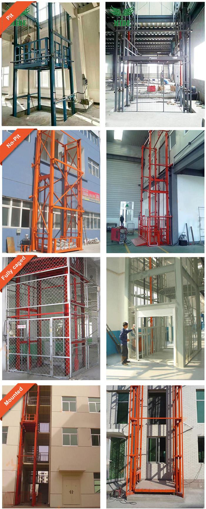 Vertical Freight Lift