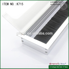 aluminum office cable box/cable outlet box for furniture desk