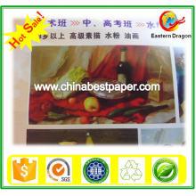Weiße Farbe 50g beschichtetes C1S-Papier
