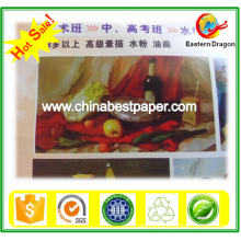 White Stock C2s Coated Paper/C1S coated paper