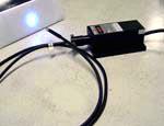 fiber laser diode blue