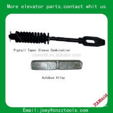 elevator pigtail taper sleeve combination Autobus Alloy