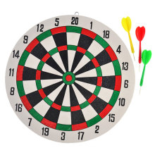 1 Set Kids Decoration Double Sided Kids Dart Board Game Parts