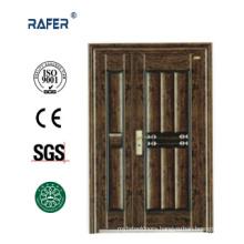 New Design Mother Son Steel Door (RA-S143)