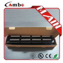 Free sample Cat5e/cat6 with jacks 24/48 Best Price 1u how to connect a patch panel