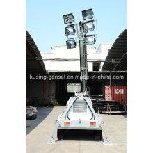 H1000 Serie Mobile Light Tower Generator Set / Diesel Generator