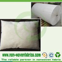 Tissu non tissé de 40grams pour la couverture d'oreiller / coussin intérieur / oreiller / édredon / matelas