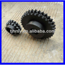 C45 Duplex Kettenrad (schwarzes Oxid)