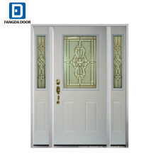 Фанда надежное качество американский стиль, используемые наружные стальные входные двери для продажи