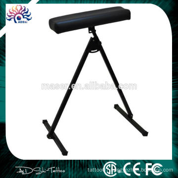 Stainless steel stand leather tattoo arm rest leg rest for sale