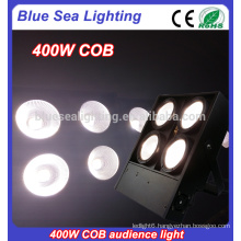 4x100w warm/cool white led audience blinders