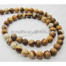 Bild Jaspis runde Perlen / 4mm / 6mm / 8mm / 10 / mm / 12mm Klasse A