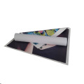 Rolo de lona de arte em algodão branco para arte a jato de tinta