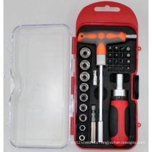 29PC T-Handle Screwdriver Bit Set with Socket Driver