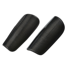 New design carbon soccer shin guards
