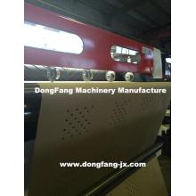 2 en 1 Máquina de corte de hoja de papel con el cilindro rotatorio Dongfang