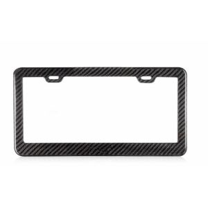Carbon Fiber License Plate Frame For Car
