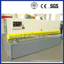 Máquina de corte hidráulico de hoja metálica, Máquina de corte hidráulico de guillotina CNC (QC12Y-10X2500)