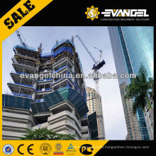 32 tons luffing tower crane external climbing SCM D650