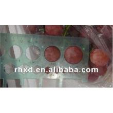 Súper uvas rojas frutas