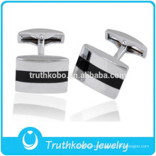 L-C0008 Wholesale Metal Cufflink Stainless Steel Silver Unique Mens Cufflinks