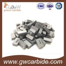 Bouts brasés de carbure de tungstène pour l'outil de coupe